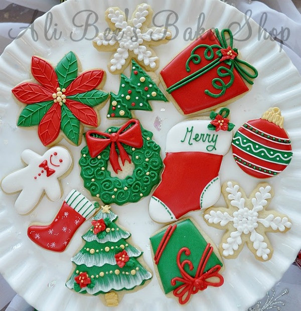 Christmas Cookies Decorated  Tour of Christmas Cookies – The Sweet Adventures of Sugar