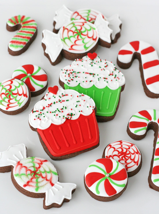 Christmas Cookies Decorated  Decorated Christmas Cookies – Glorious Treats