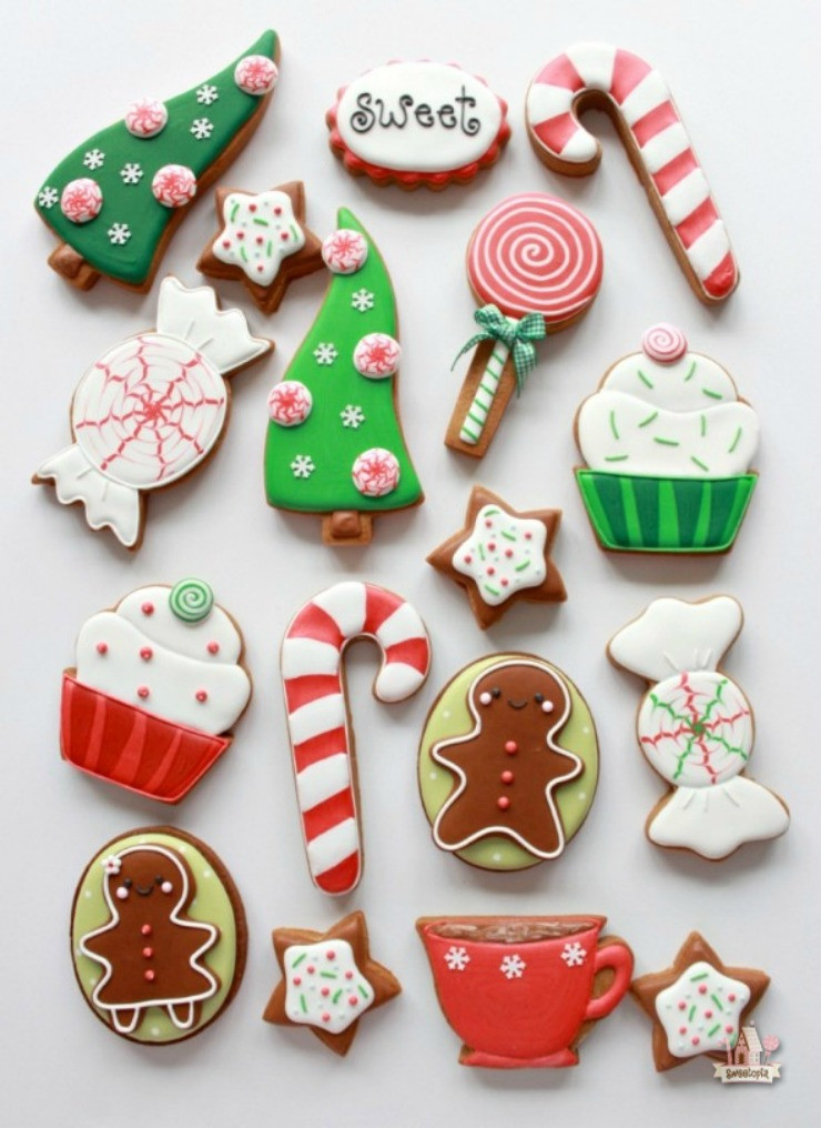 Christmas Cookies Decorated  Awesome Christmas Cookies to Make You Smile