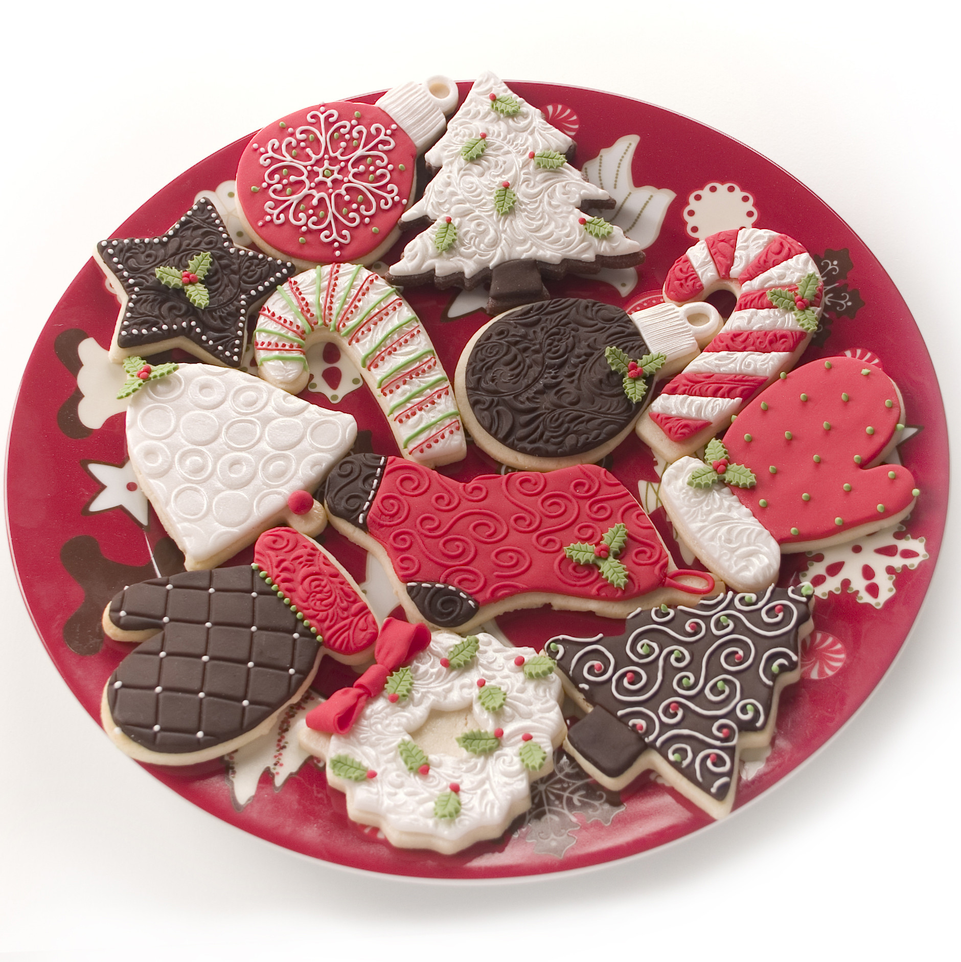 Christmas Cookies Decorated  Holiday cookies