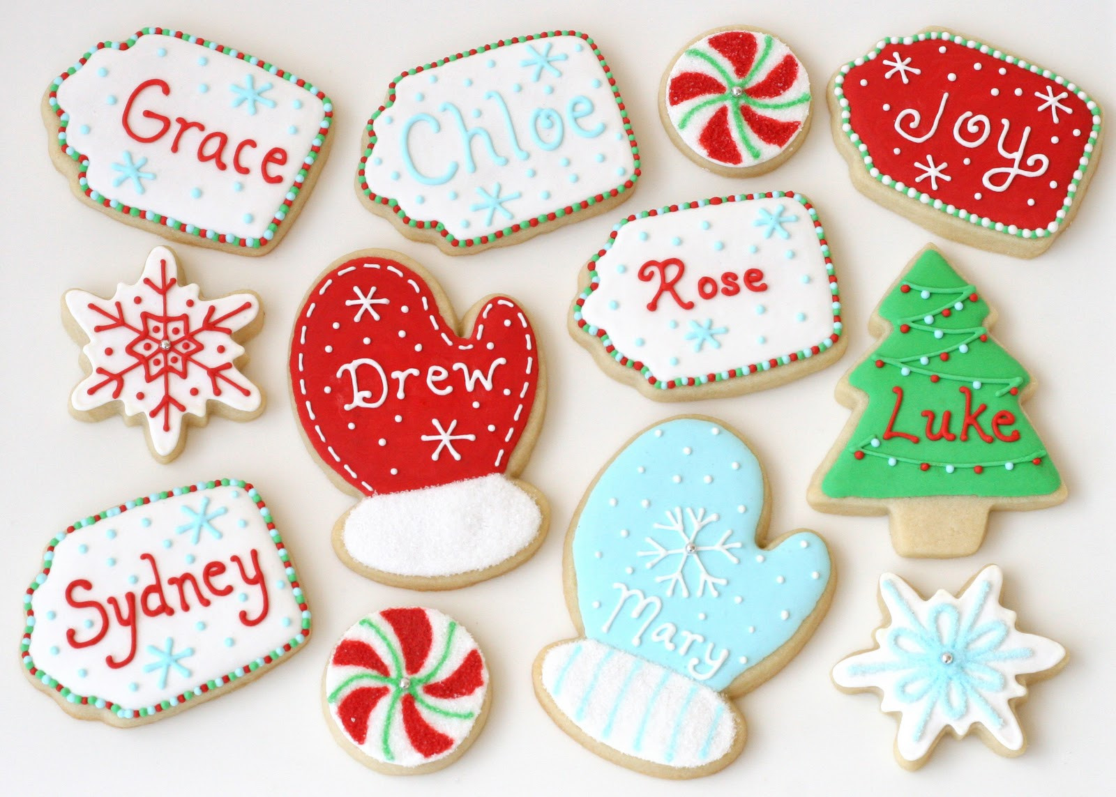 Christmas Cookies Decorated  Christmas Cookies Galore Glorious Treats