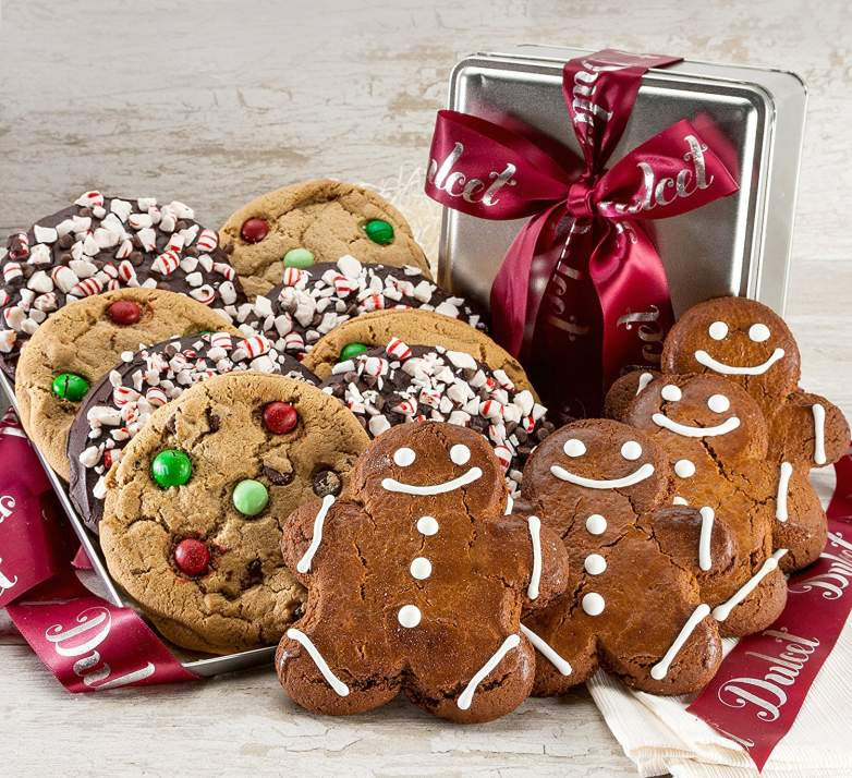 Christmas Cookies Delivered  Top 20 Best Cookie Gift Baskets for Christmas 2017