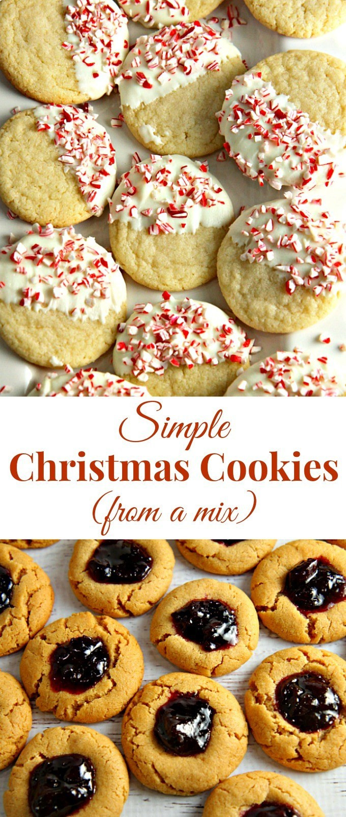 Christmas Cookies From Scratch  Simple Christmas Cookies from a mix A Dish of Daily Life