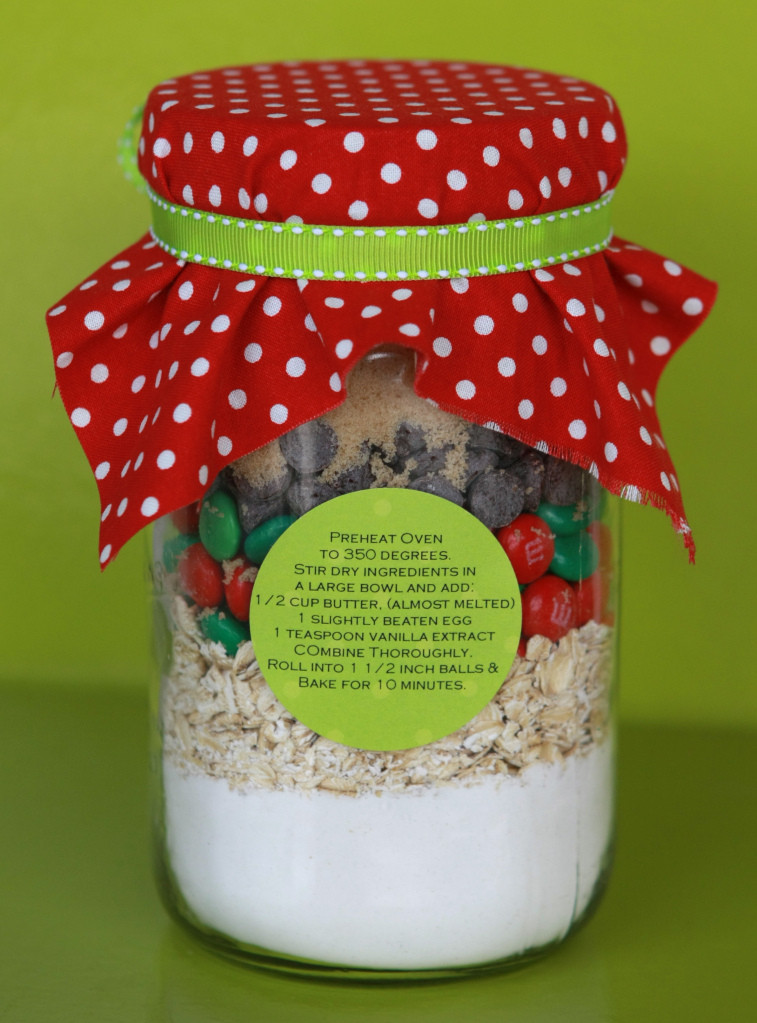 Christmas Cookies In A Jar  RVC Outdoor Destinations Cookies in a Jar for Santa