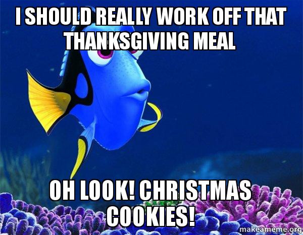 Christmas Cookies Meme  Serious Motivation for Winter Workouts