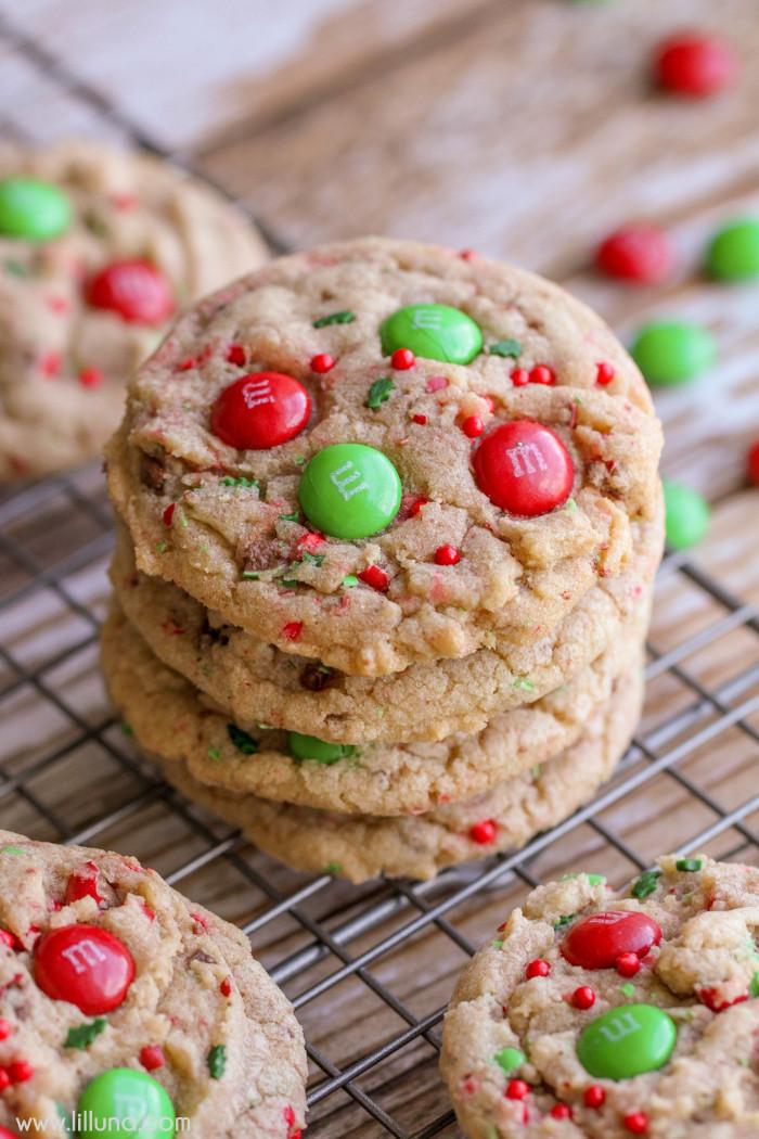 Christmas Cookies Pictures  Chocolate Caramel Pecan Turtles Lil Luna