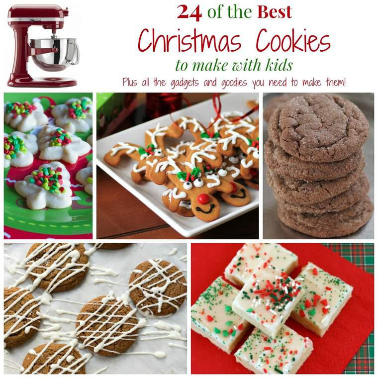 Christmas Cookies To Make With Kids  24 of The Best Christmas Cookies to Make with Kids