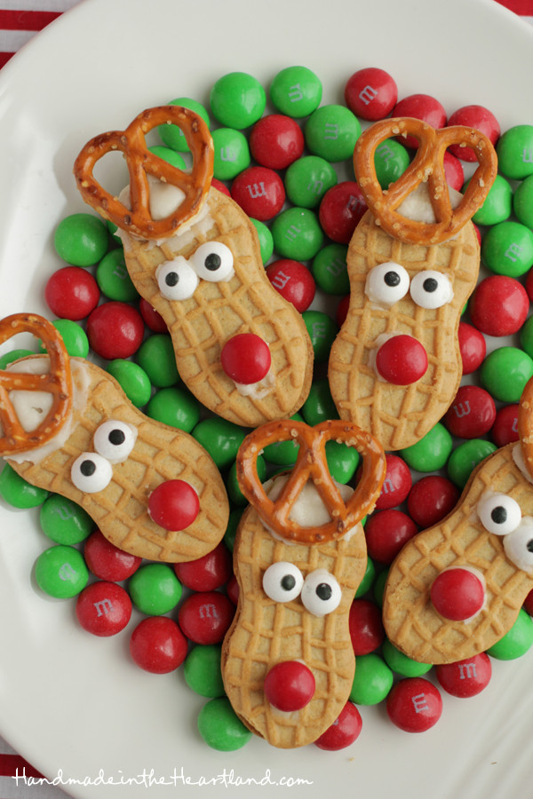 Christmas Cookies To Make With Kids  Nutter Butter Reindeers
