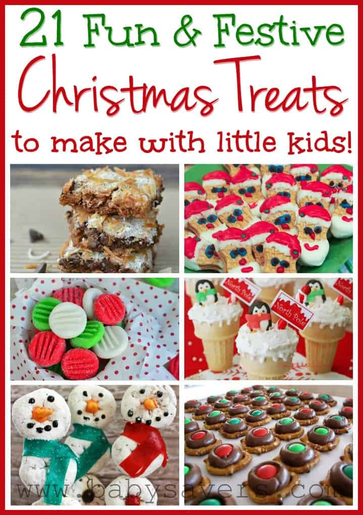 Christmas Cookies To Make With Kids  Easy Christmas Recipes for Kids 21 Kid Friendly Treats