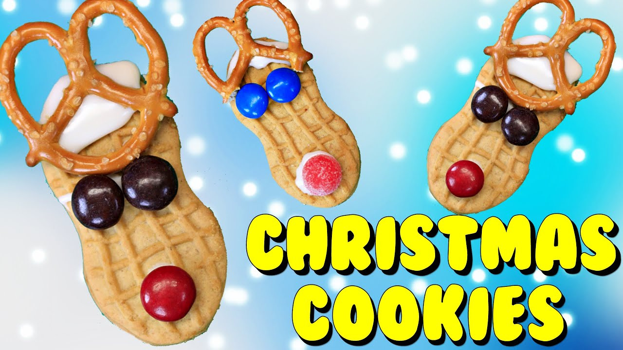 Christmas Cookies To Make With Kids  Easy Christmas Cookies Tutorial for Kids Using Peanut