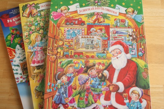 Christmas Countdown Calendar With Candy  The Parsimonious Princess Counting the Days A Fun Easy