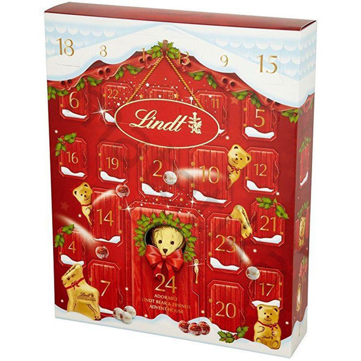 Christmas Countdown Calendar With Candy  1000 ideas about Lindt Advent Calendar on Pinterest