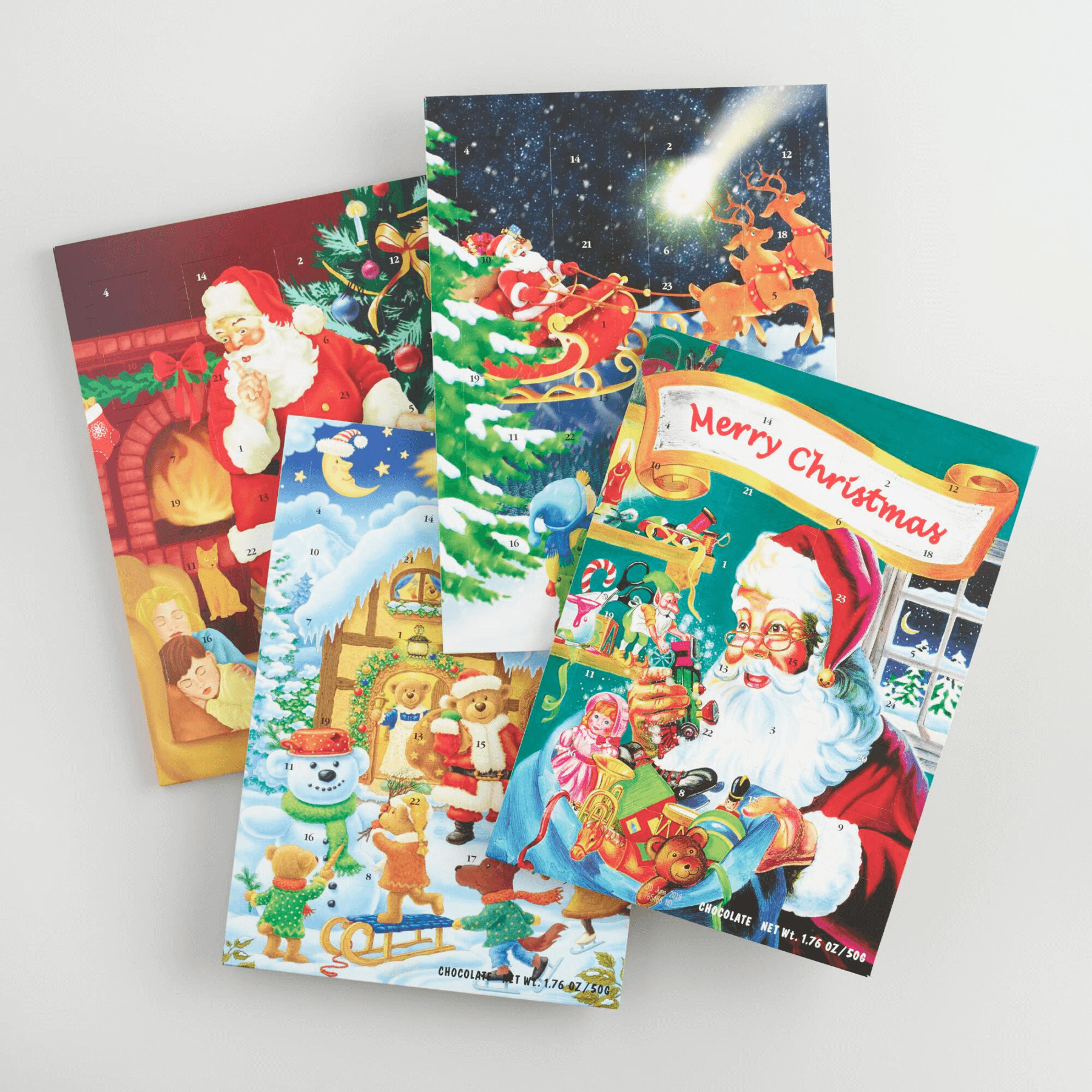 Christmas Countdown Calendar With Candy  Chocolate & Candy Advent Calendars For a Sweet Christmas