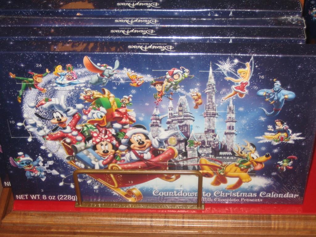 Christmas Countdown Calendar With Candy  25 Days of Christmas – Day 8 Christmas Food at Walt