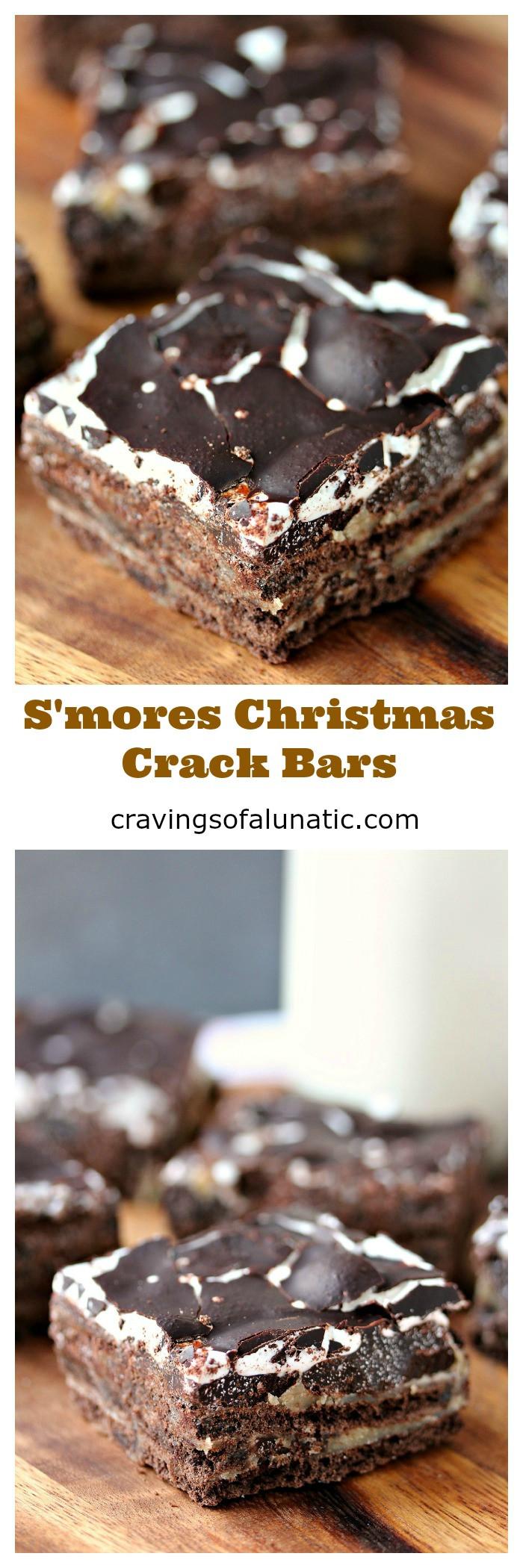 Christmas Crack Graham Crackers  S mores Christmas Crack Bars