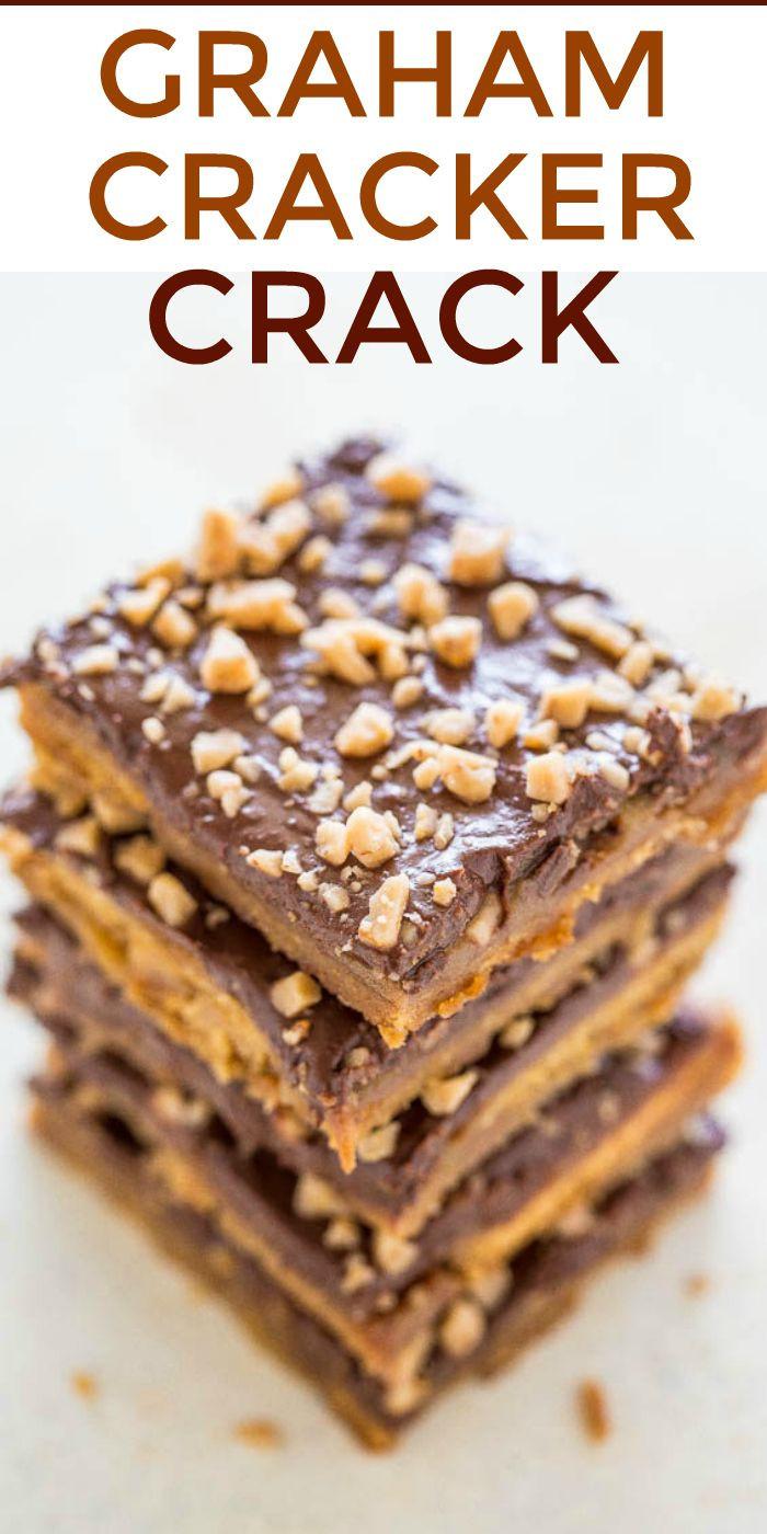 Christmas Crack Graham Crackers  Best 25 Mini cinnamon buns ideas on Pinterest