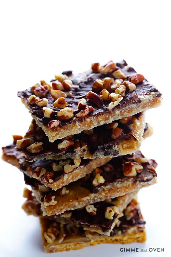 Christmas Crack Graham Crackers  5 Ingre nt Graham Cracker Toffee