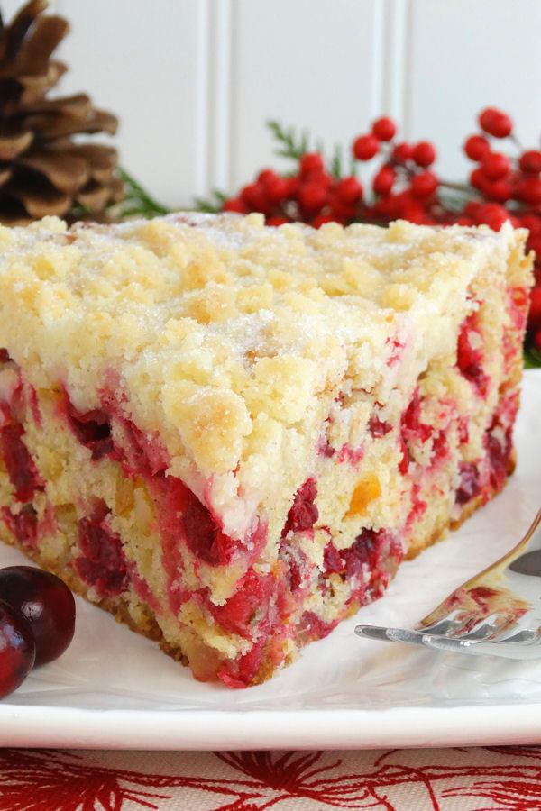 Christmas Cranberry Cake Recipe  35 Scrumptious and Festive Christmas Cakes