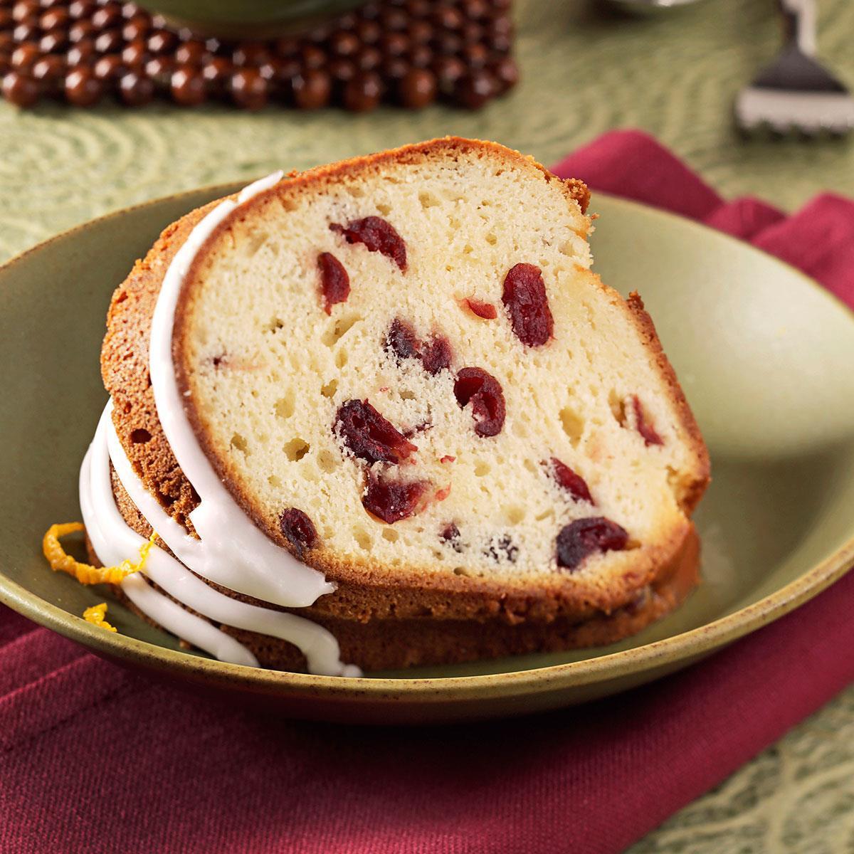 Christmas Cranberry Pound Cake  Grand Marnier Cranberry Pound Cake Recipe