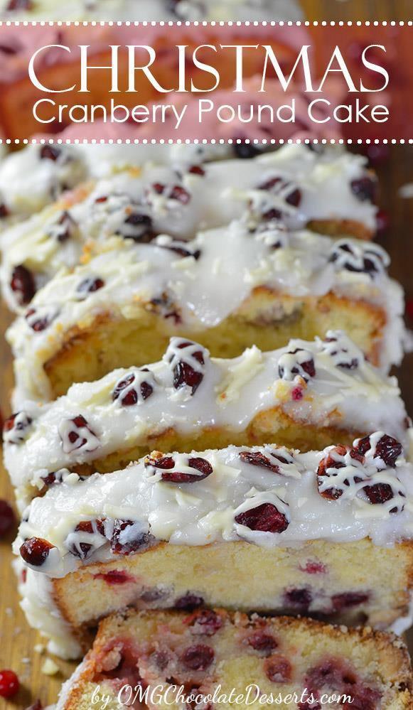 Christmas Cranberry Recipes  Christmas Cranberry Pound Cake