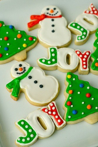 Christmas Cutout Cookies  Christmas cookie decorating Home Decorating Ideas