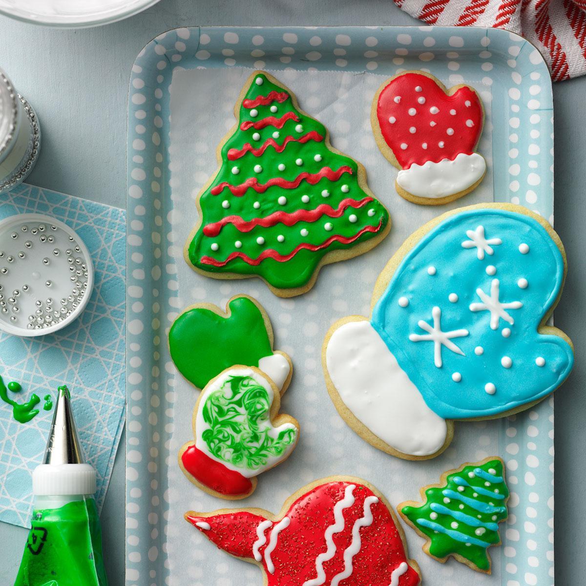 Christmas Cutout Cookies  Holiday Cutout Cookies Recipe