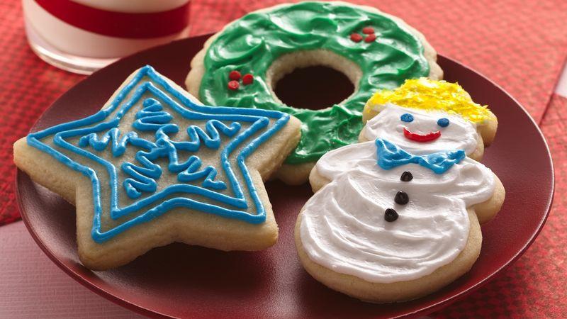 Christmas Cutout Cookies  Easy Holiday Cutout Cookies Recipe BettyCrocker