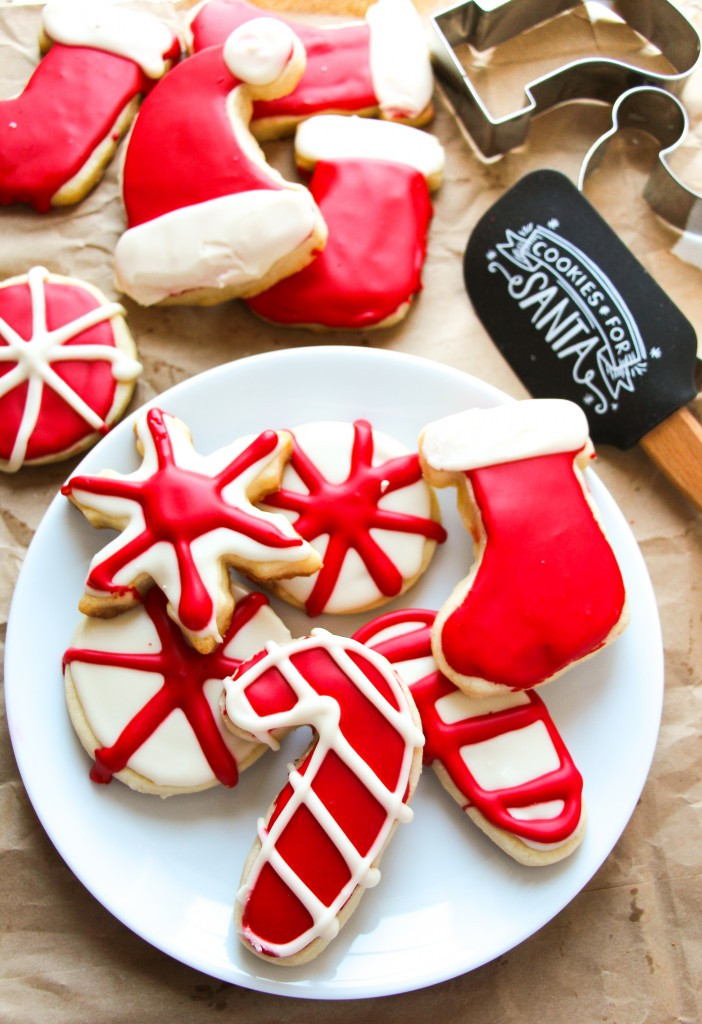 Christmas Cutout Cookies  No Fail Soft Cut Out Sugar Cookies Layers of Happiness