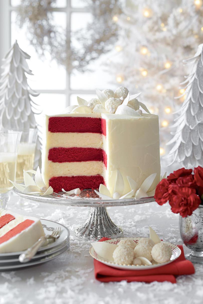 Christmas Dessert Cakes  White Christmas Desserts Southern Living