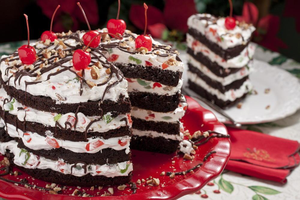 Christmas Dessert Cakes  Jingle Bell Torte