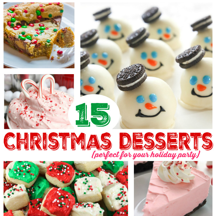Christmas Dessert Ideas For Parties  15 Delicious Christmas Party Dessert Ideas Mommy s Bundle