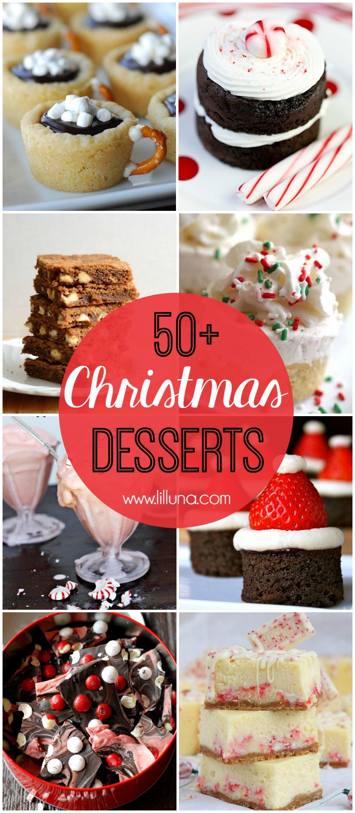Christmas Dessert Ideas For Parties  Christmas Desserts