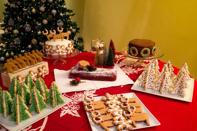 Christmas Dessert Table  MARTHA MOMENTS Rowaida s Christmas Dessert Table