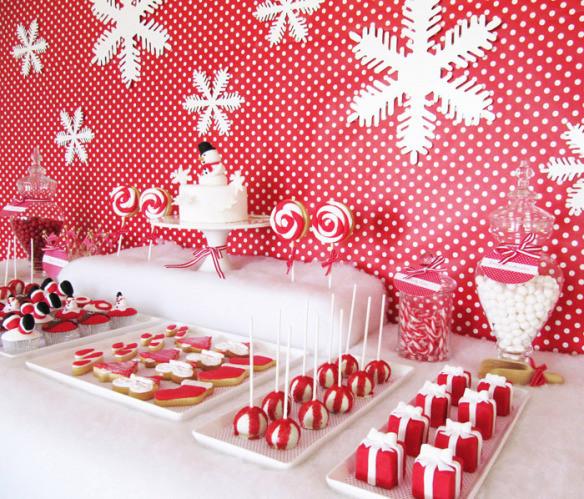 Christmas Dessert Table  Inspiration for the Holiday Season Sweet Desserts