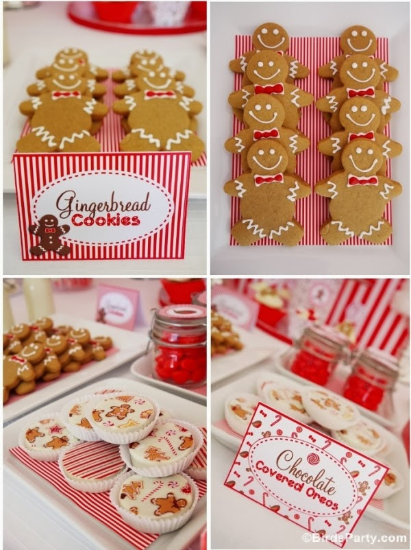 Christmas Desserts Party  Christmas Candyland Party Ideas & Desserts Table Party