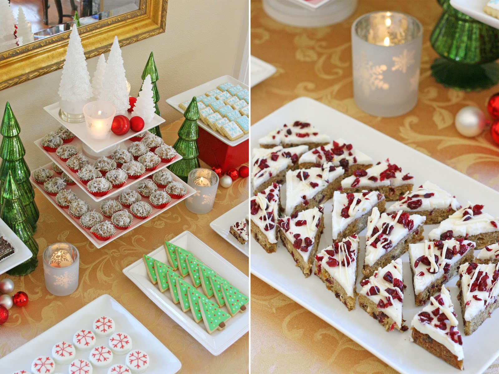 Christmas Desserts Party  Classic Holiday Dessert Table Glorious Treats