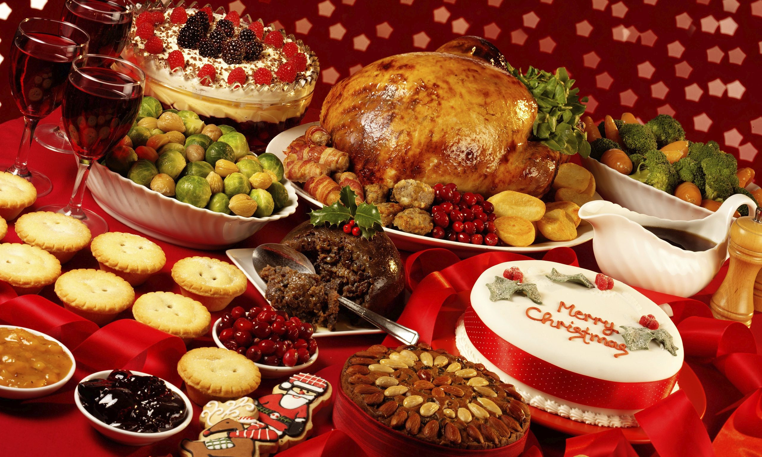 Christmas Dinner Images  Worried About Overeating This Christmas