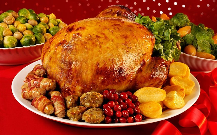 Christmas Dinner Images  Why Christmas dinner will be 5pc cheaper this year Telegraph