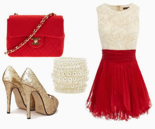 Christmas Dinner Outfit  Efashionwander My dress is like a Movie