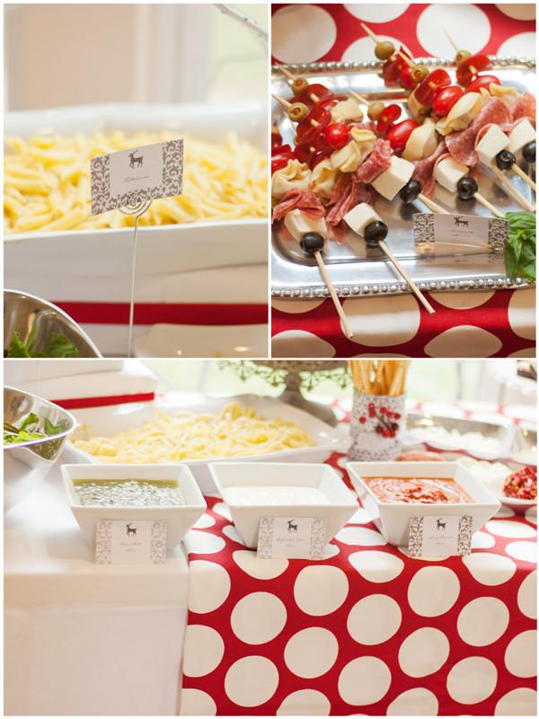 Christmas Dinner Party Ideas  An Italian Red & White Holiday Dinner Party Party Ideas