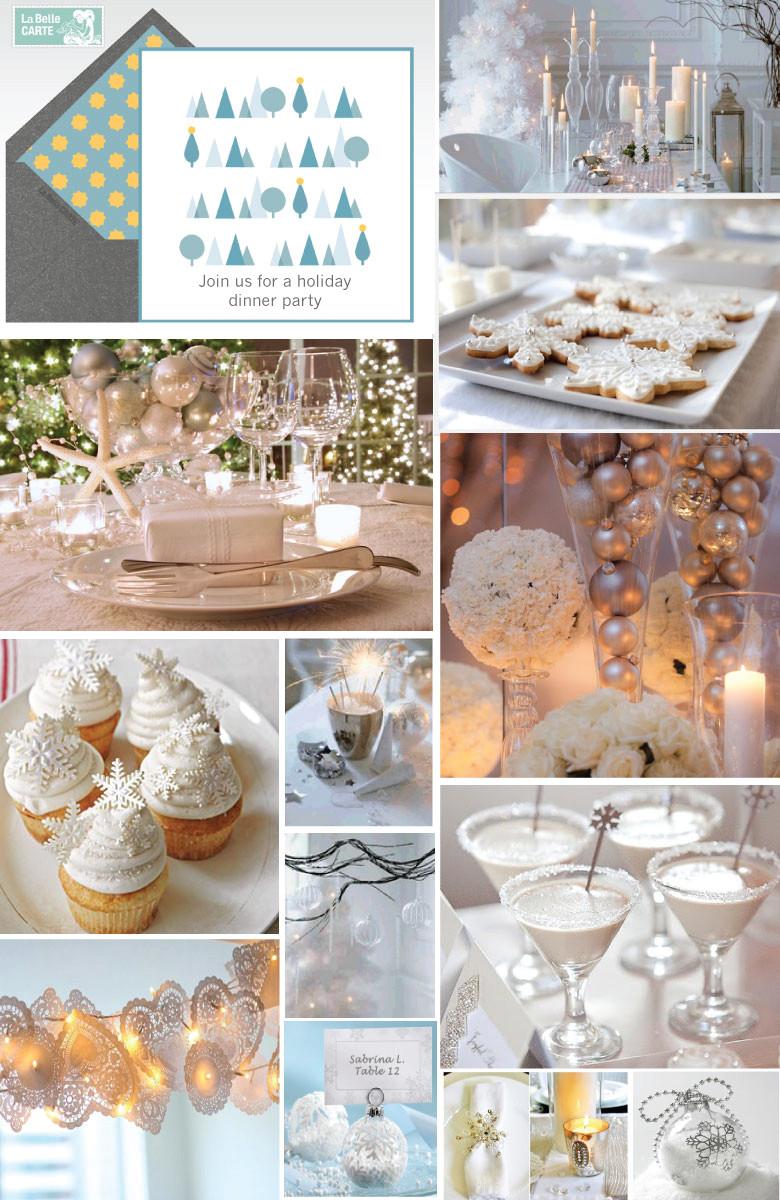 Christmas Dinner Party Ideas  PARTIES & DINNERS La Belle Blog