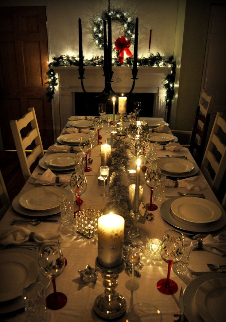 Christmas Dinner Party Ideas  17 Best images about Advent Table settings on Pinterest