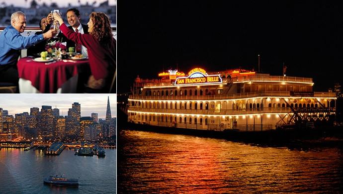 Christmas Dinner San Francisco  Silver Bells Holiday Dinner Cruise Hornblower Yacht San