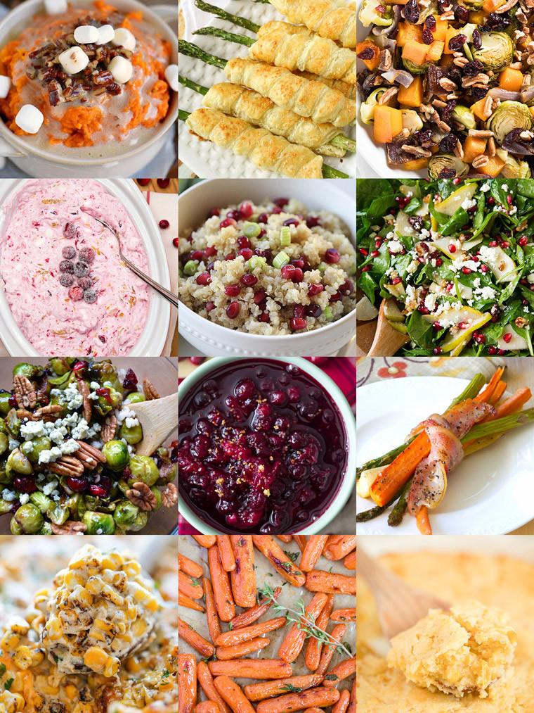 Christmas Dinner Vegetables  35 Side Dishes for Christmas Dinner Yellow Bliss Road