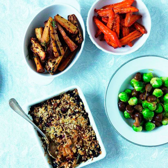 Christmas Dinner Vegetables  Christmas Ve ables And Sides Woman And Home