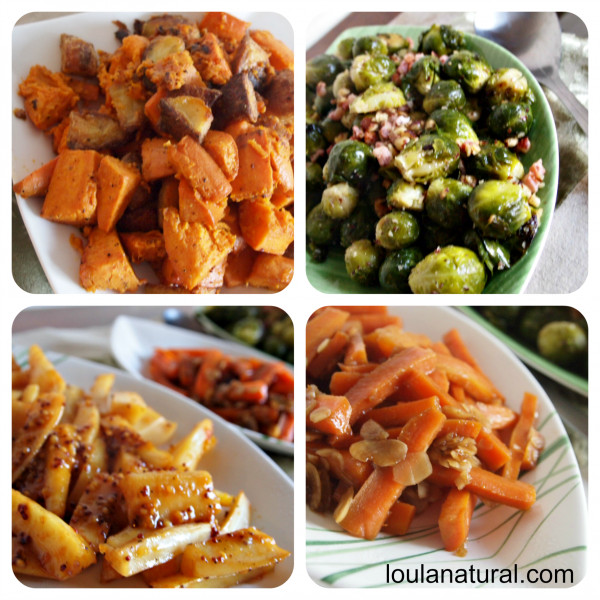 Christmas Dinner Vegetables  How to Cook Christmas Dinner Loula Natural