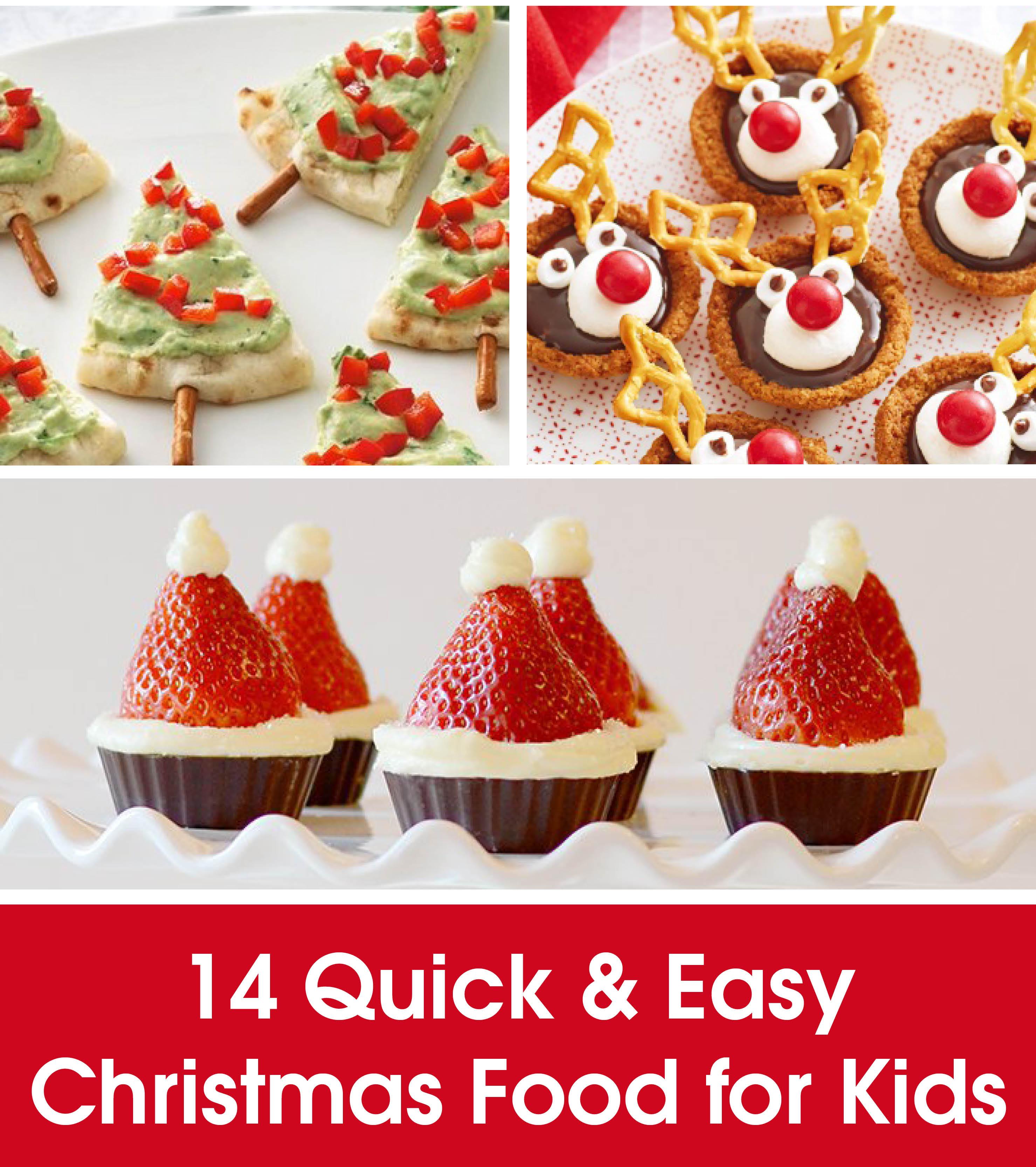 Christmas Dinners For Kids  QUICK & EASY CHRISTMAS FOOD FOR KIDS