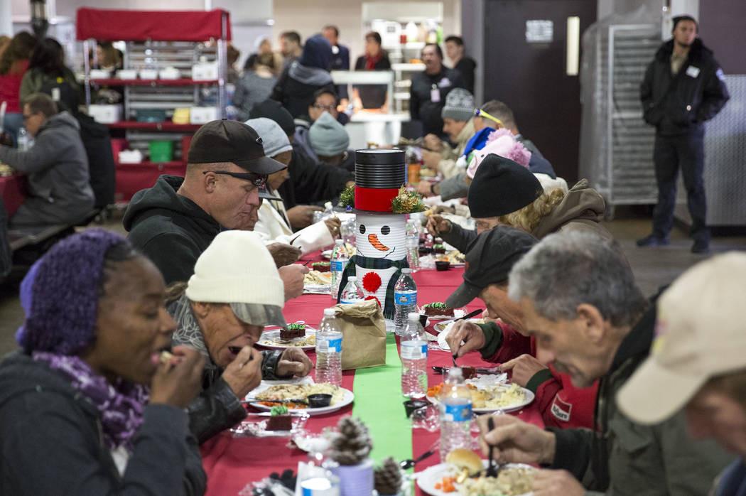 Christmas Dinners In Las Vegas  Fertitta family gives $10M to Catholic Charities' Las