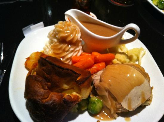 Christmas Dinners In Las Vegas  Full turkey British Christmas Dinner Yumm Picture of