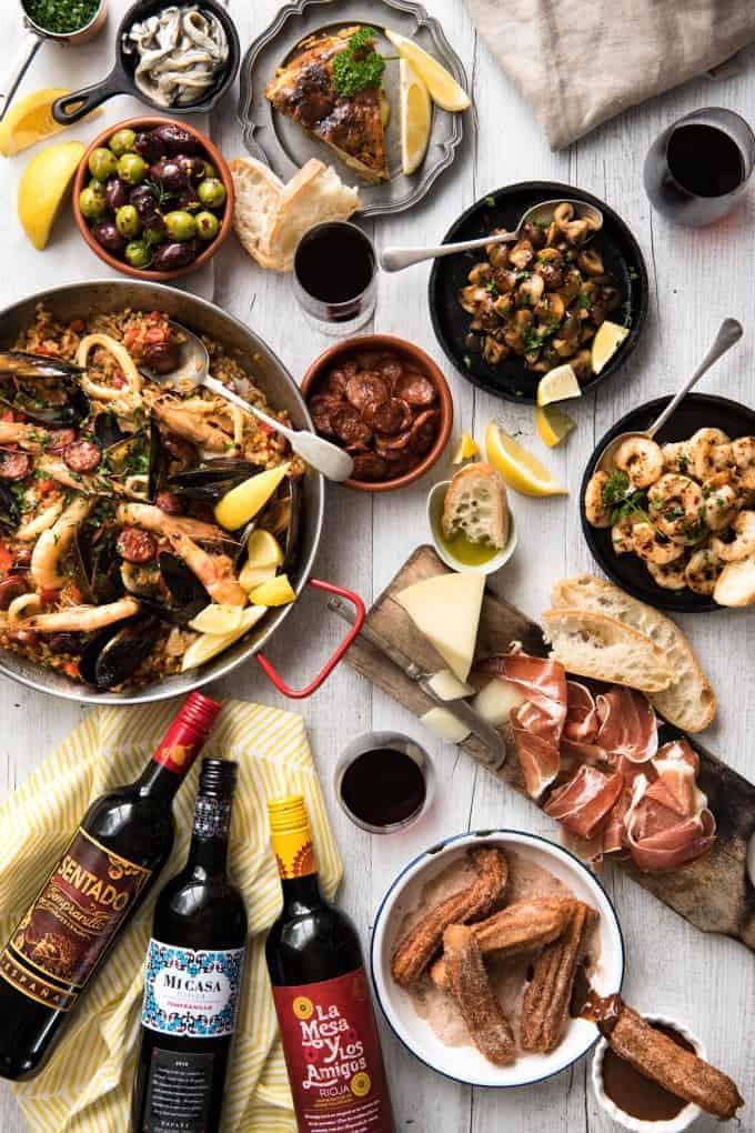 Christmas Dinners In Spain  Easy Spanish Tapas Recipes